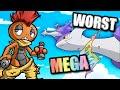 Top 5 WORST Pokémon Mega Evolutions - HoodlumScrafty