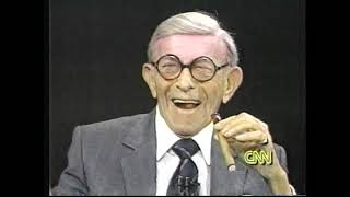 George Burns on Larry King LIve (1989)