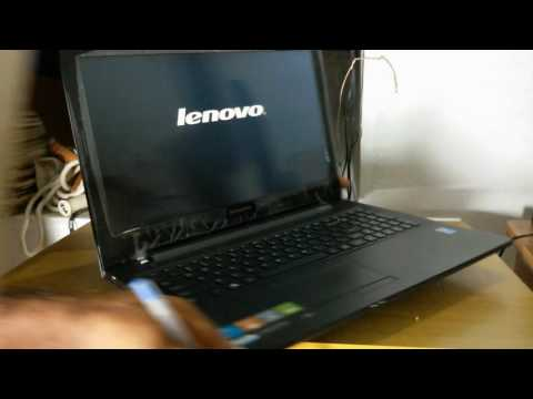 How to Enter Boot Menu (BIOS Setup)-  Lenovo G50 Series Laptop | Lenovo BIOS Key | Boot Menu  Setup
