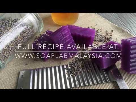How To Make: Lavender Honey Soap