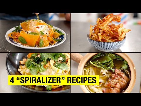 4 Healthy & Lazy Spiralizer Recipes You Can Finally Make...