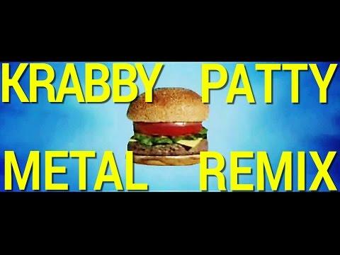 Preparing The Krabby Patty (Metal Cover)