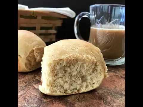 Homemade Dinner Rolls ( Whole Wheat Pav)