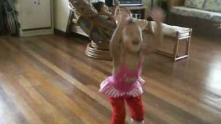 2 year old Dance Hall Queen