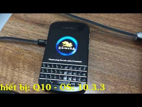 Xóa BlackBerry Protect trên Q10 - 0S: 10.3.3 | How To Remove Blackberry Anti Theft Protection