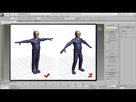 Basic Concepts in 3ds Max - Part 1 - Character Rigging
