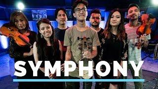 Clean Bandit | Symphony ft. Zara Larsson (Cover) | Abin Shakya ft. Nikki Hamal & Sanu