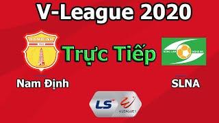 Nam Định vs Sông Lam Nghệ An 2020 | PES 2020 Gameplay
