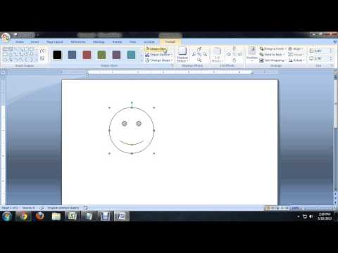 How to Insert a Color Smiley in Microsoft Word : Tech Niche