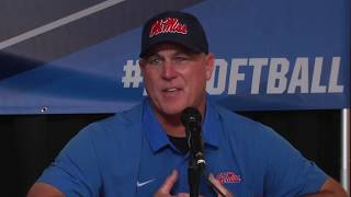 NCAA Oxford Regional - Ole Miss Press Conference (5/21 vs. UNC)
