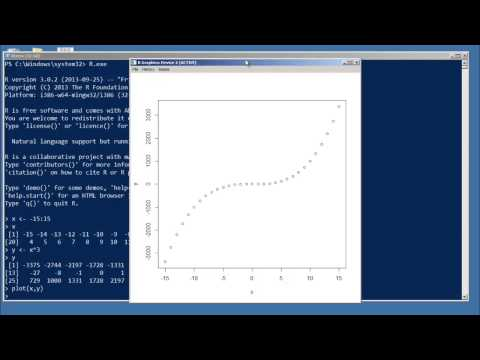 Learn R quick and diRty 20 - Basics of R Plotting