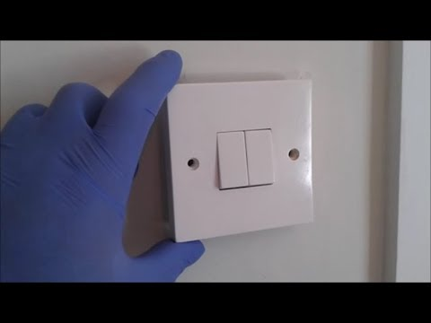 Careful Around Electric Switch Plates And Sockets