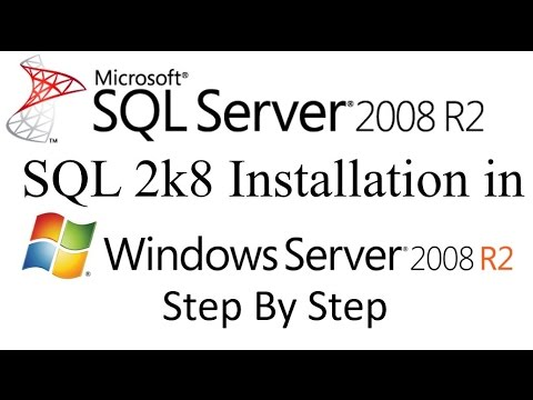 SQL Server 2008 R2 Installation Step by Step in Windows Server 2008 R2