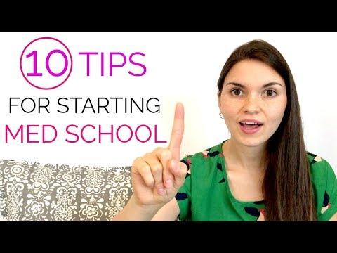 10 TIPS for STARTING Medical School