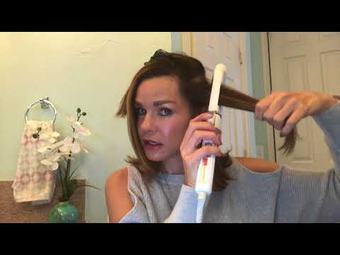 How to Curl a Long Bob