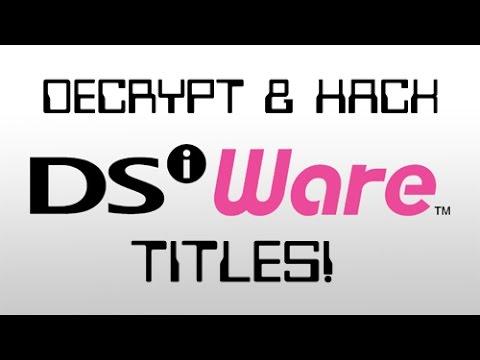 DSiWare Hacking/Ripping Tutorial! [V 1.0]