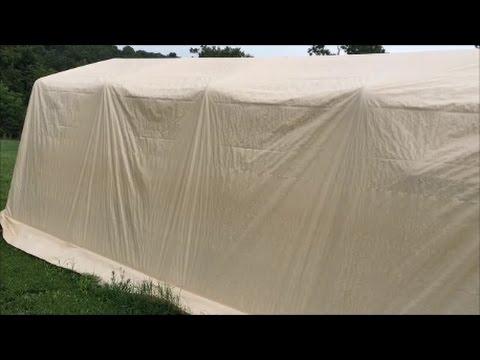 SHTF WROL Temporary Shelter ~ ShelterLogic AutoShelter 1020 #shelterlogic