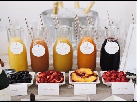 Succo di frutta fatto in casa,Ricetta Semplice e Veloce