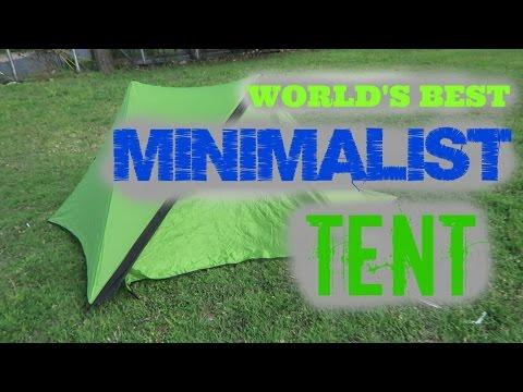 WORLD'S BEST MINIMALIST TENT