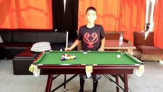 Mini Pool Table Match With Anthony!