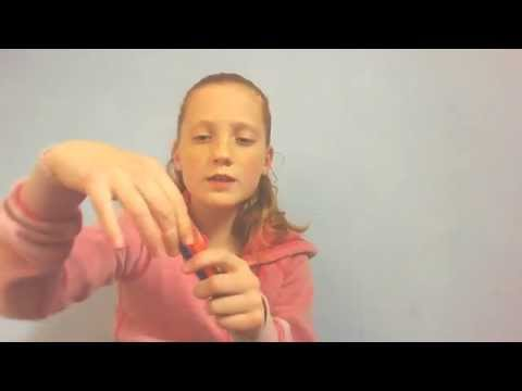 How to make a Fishtail with two pencils (easy)