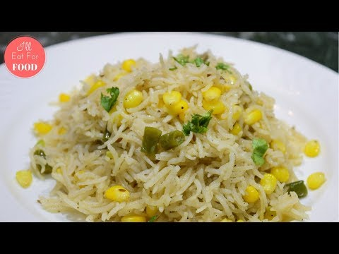 Quick Stir-Fry Sweet Corn Rice │Episode 076│ I'll Eat For Food