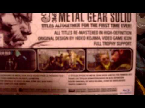 Metal Gear Solid: HD Collection Unboxing
