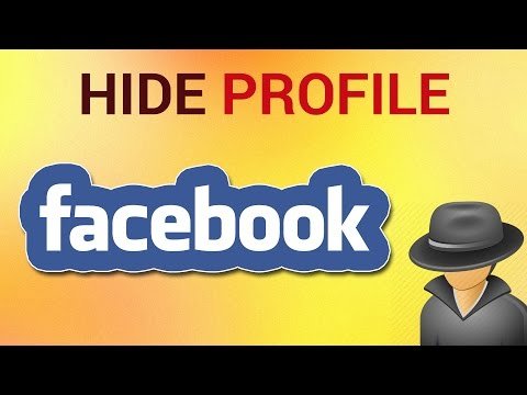 How to Hide Facebook Profile from Public