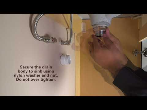 How to Install DecoDRAIN Push Pop-Up Drain by PF WaterWorks