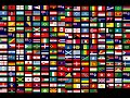 Flags of All Countries of the World with Names 3th part music by Klimpers
