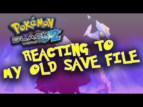 Reacting To My Old Pokemon Black 2 Game!