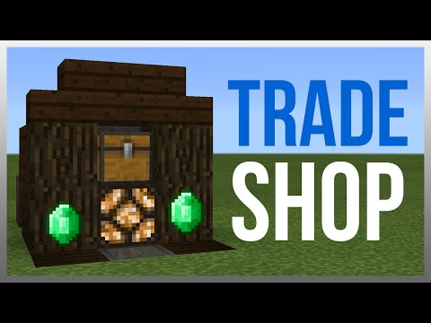 MCPE 0.16.1: Redstone Tutorial - Trade Shop! (WORKS ON PC)