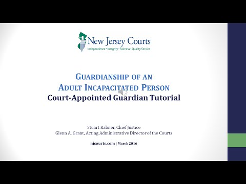 Court-Appointed Guardian Video Tutorial