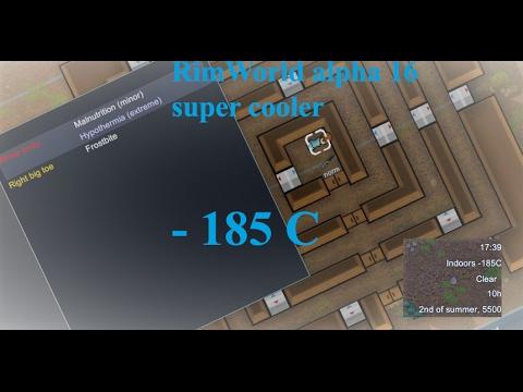 RimWorld alpha 16 tutorial : Super Freezer II  -185C