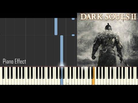 Dark Souls 2 - Majula (Piano Tutorial Synthesia)
