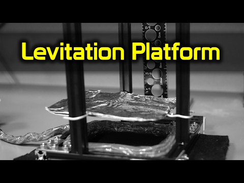 DIY Levitation Platform with an Induction Heater