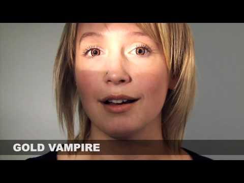 Gold Vampire Halloween Contact Lenses | Coastal.com