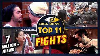 Top 11 FIGHTS In Bigg Boss 11 | Hina Khan, Arshi Khan, Luv Tyagi, Vikas Gupta, Priyank Sharma