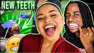 $30,000 NEW TEETH MAKEOVER!!!😱