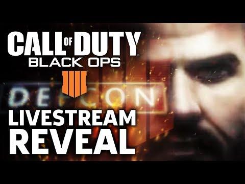 Call of Duty Black Ops 4 Reveal Livestream - GameSpot Live