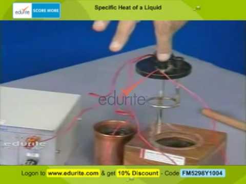Specific Heat of a Liquid_AIM