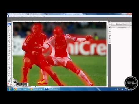 How to blur backgroung-Photoshop cs3