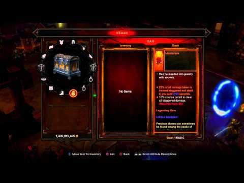 Diablo 3 Ultimate Evil Edition 2.1 List of Legendary Gems