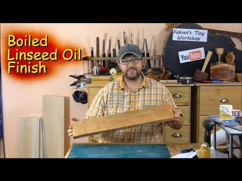 How to apply a Boiled Linseed Oil Finish