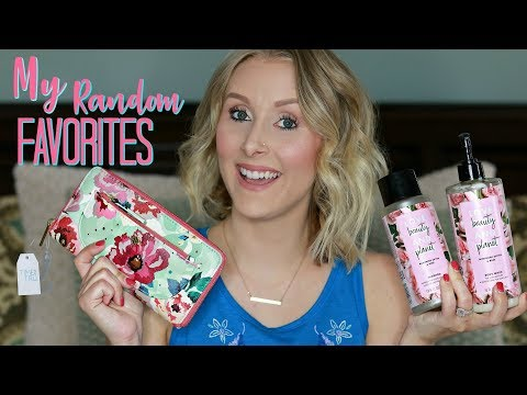 My RANDOM Favs and Finds/Is TEAMI Blends a Scam?/Natural Deodorant and MORE!