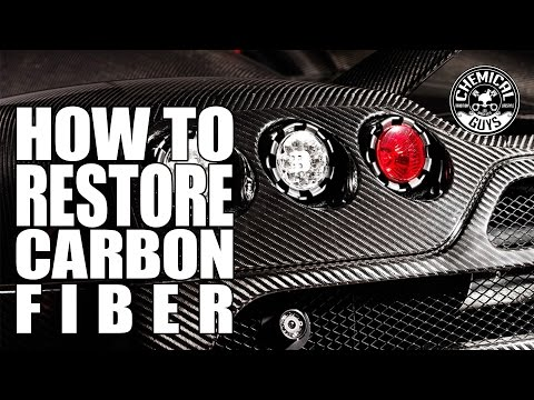How To Restore Carbon Fiber - Chemical Guys Nissan 370Z