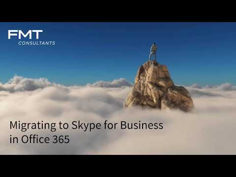 Migrating to Skype for Business in Office 365