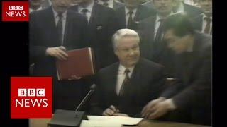 Russia: 25 years since USSR - BBC News