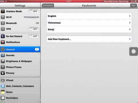 How to get smiley face (emoji) on the IPHONE, IPAD, IPOD