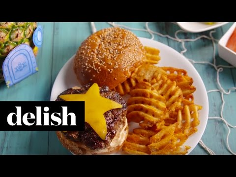 Krabby Patty Burger | Delish